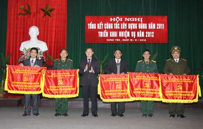 Hưng Yên: Tổng kết công tác xây dựng Đảng năm 2011, triển khai nhiệm vụ năm 2012